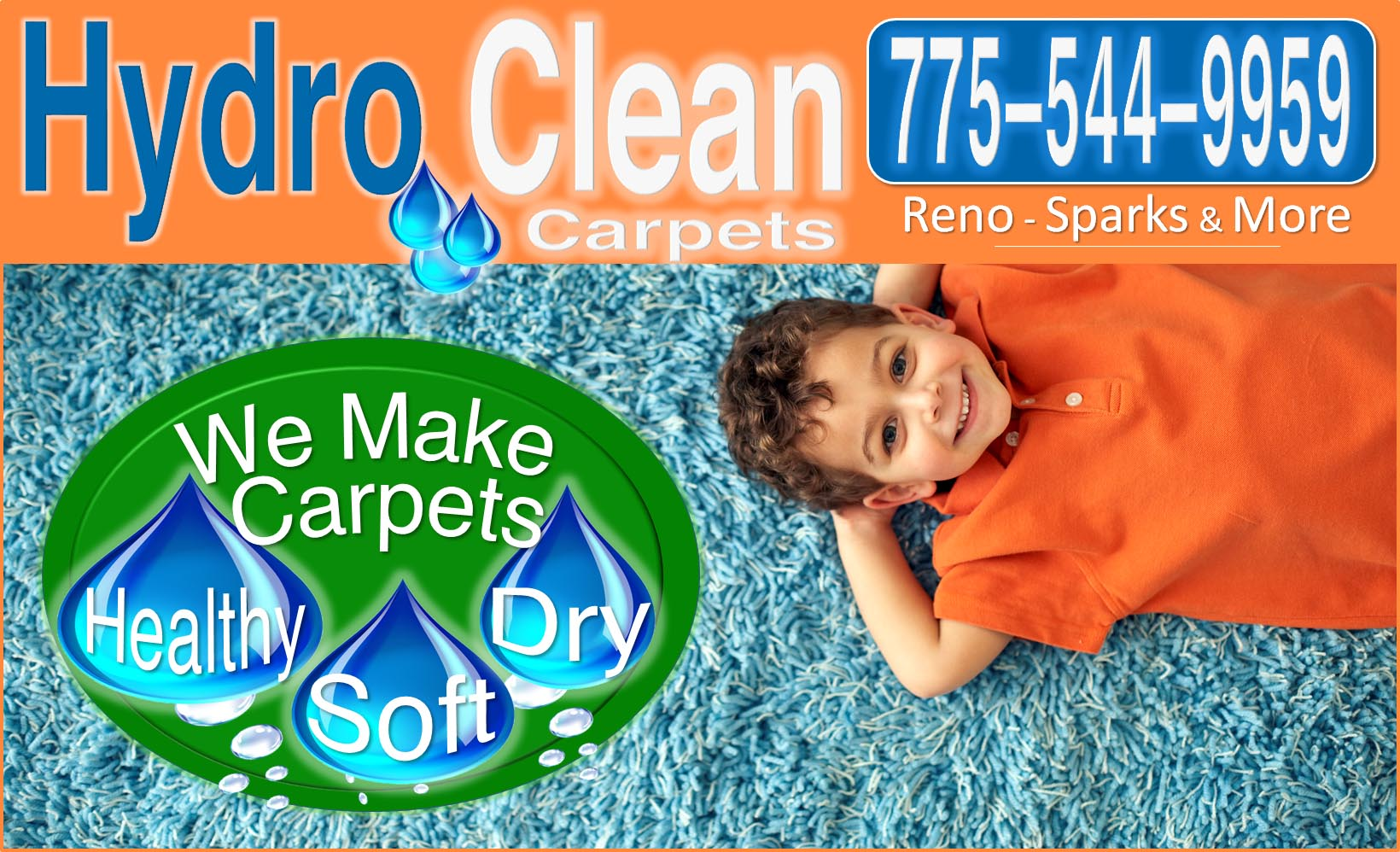 HydroClean Carpet Cleaning Reno Nevada and Sparks Nevada 775 544-9959