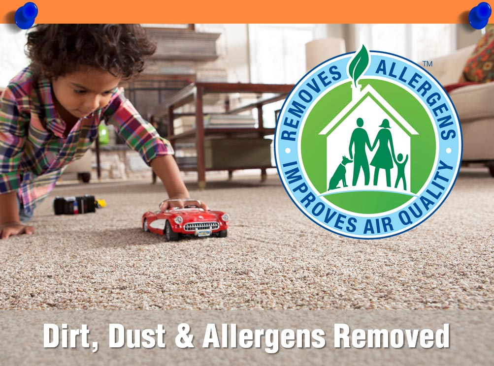 Remove Dirt, Dust and Allergens While Deep Cleaning Carpet